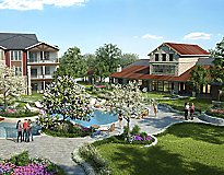 Leander, TX Apartments - Park at Crystal Falls Apartments