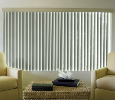 JCPenney Home™ Linen Look Vinyl Vertical Blinds