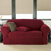 Maytex Collin Ribbed Slipcover Collection
