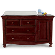 Bedford Baby Monterey Changing Table - Chocolate Mist