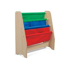 Kids Sling Bookshelf - Primary Colors