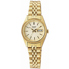 Pulsar® Womens Gold-Tone Dress Watch PXX004