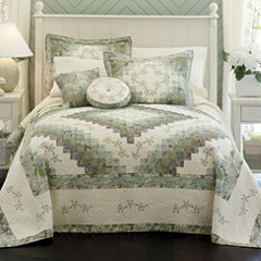 Home Expressions™ Cassandra Pieced Bedspread & Accessories