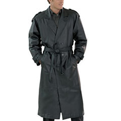 Excelled® Nappa Leather Trenchcoat