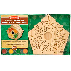 Melissa & Doug® Build-Your-Own Wooden Birdhouse