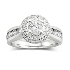 True Love, Celebrate Romance® 2 CT. T.W. Certified Diamond Engagement Ring