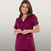 Grey's Anatomy™ Womens Scrubs, Mock Wrap Top - Plus