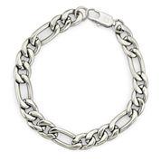 Mens Figaro Bracelet Stainless Steel