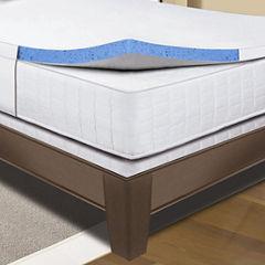 Sleep Innovations® Gel Memory Foam Mattress Topper