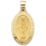 14K Yellow Gold Miraculous Medal