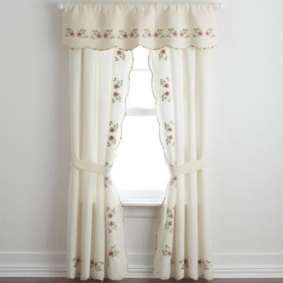 Elegant Home Expressions™ Lynette 2 Pack Curtain Panels
