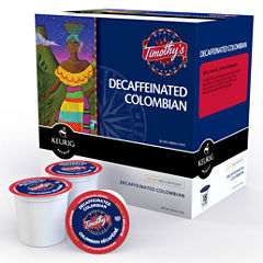 K-Cup® Colombian Decaf Coffee Packs by Timothy's