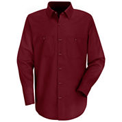 Red Kap® Industrial Solid Work Shirt–Big & Tall