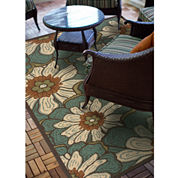 Covington Home Montego Blossoms Indoor/Outdoor Rectangular Rug