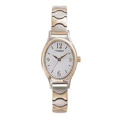 Timex® Womens Oval Expansion Strap Watch T26301