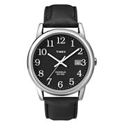 Timex® Easy Reader Mens Black Watch