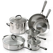 Simply Calphalon® 10-pc. Stainless Steel Cookware Set
