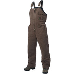 Tough Duck™ Lined Washed-Canvas Bib Overalls–Big & Tall