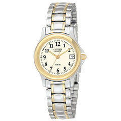 Citizen® Womens Two-Tone Watch EU1974-57A