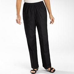 Alfred Dunner® Black Denim Jeans