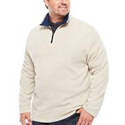 IZOD® Spectator Sweater  Fleece Quarter Zip- Big & Tall