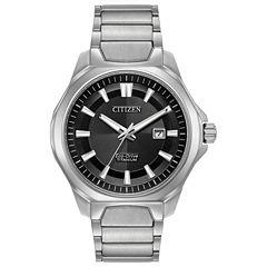 Citizen Mens Silver Tone Bracelet Watch-Aw1540-88e