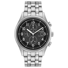 Citizen Mens Silver Tone Bracelet Watch-Ca0620-59h