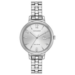 Citizen Womens Silver Tone Bracelet Watch-Ew2440-53a