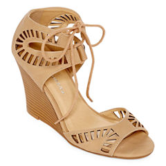 CL by Laundry Brina Womens Wedge Sandals