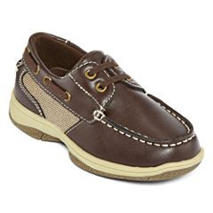 Okie Dokie® Brett Boys Boat Shoes - Toddler