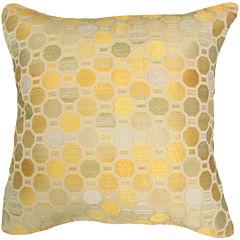 Octagon Jacquard Decorative Pillow