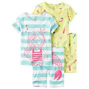 Carter's Girls Pajama Pants-Toddler