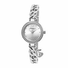 Hershey Kisses Womens Silver Tone Bracelet Watch-Ks007sl