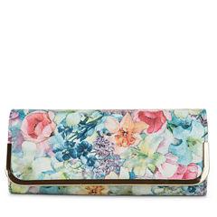 Gunne Sax by Jessica McClintock Addison Bar Accent Floral Evening Bag