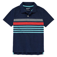 Arizona Short Sleeve Solid Pique Polo Shirt Boys