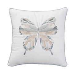 Shell Rummel Sea Glass Square Throw Pillow