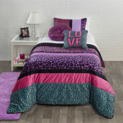 Seventeen® Pop Cheetah Comforter Set & Accessories