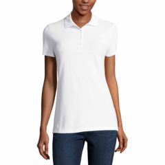 Women Polo Shirts Under $10 for Clearance - JCPenney