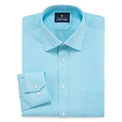 Stafford Travel Easy-Care Broadcloth - Big & Tall Long Sleeve Dress Shirt