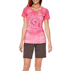 Made for Life™ Medallion Graphic T-Shirt or French Terry Bermuda Shorts