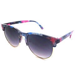 Fantas Eyes Half Frame Round UV Protection Sunglasses