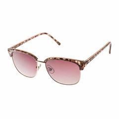Bisou Bisou Half Frame Round UV Protection Sunglasses