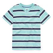 Arizona Boys Short-Sleeve Stripe Tee - Preschool 4-7