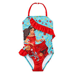 Disney Elena of Avalor Solid One Piece Swimsuit Toddler Girls