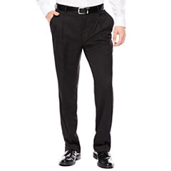 Stafford® Travel Pleated Suit Pants - Classic Fit