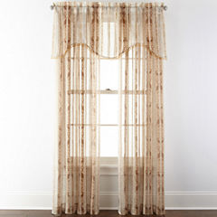 Home Expressions™ Regan Rod-Pocket Sheer Window Treatments