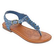 Arizona Tris Girls Flat Sandals