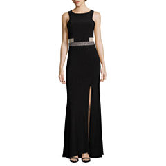 Scarlett Sleeveless Fitted Gown-Talls