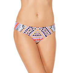 Laundry By Design Geometric Hipster Swimsuit Bottom