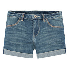 Levi's Knit At Waist Shortie Shorts - Toddler Girls